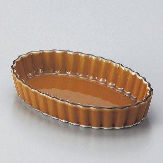 アメライン楕円パイ皿 小 洋食器 オーブンウェア グラタン 業務用