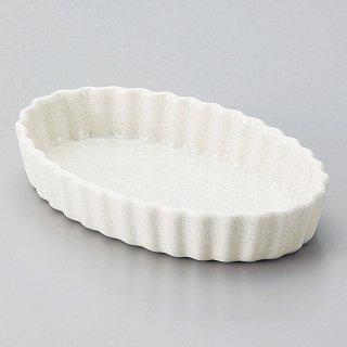 梨地楕円パイ皿 小 洋食器 オーブンウェア グラタン 業務用