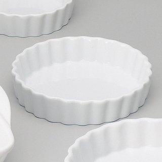ルナホワイト13.5cmパイ皿 洋食器 オーブンウェア ベーカー・ラザニア 業務用