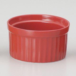 ビビッドカラースフレS R 洋食器 オーブンウェア スフレ・ココット 業務用