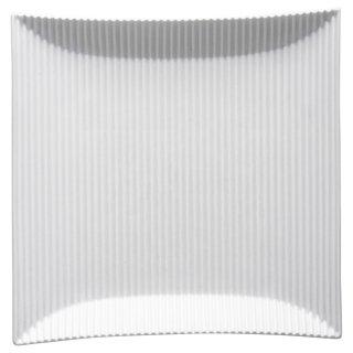 モデラート 大 白正角皿 白い器 洋食器 長角プレート(M) 業務用 約25.7cm 長皿 角皿 中皿 前菜 オードブル 焼物皿