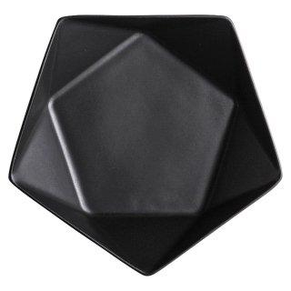 アポロ黒16cm浅ボール 洋食器 楕円・変形ボール(S) 業務用 約17cm 洋食 ボウル