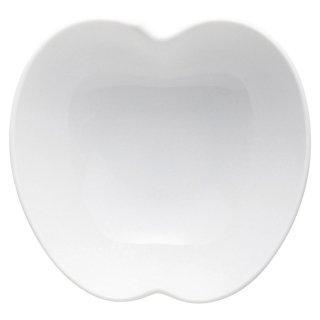 フルーティーりんご大鉢 白い器 洋食器 楕円・変形ボール(S) 業務用 約15cm 洋食 ボウル