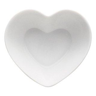 ハートボール 小 白い器 洋食器 楕円・変形ボール(SS) 業務用 約9.3cm 洋食 前菜