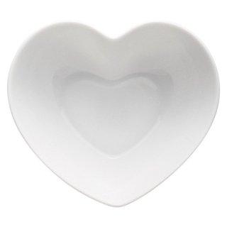 ハートボール 中 白い器 洋食器 楕円・変形ボール(SS) 業務用 約13.5cm 洋食 前菜