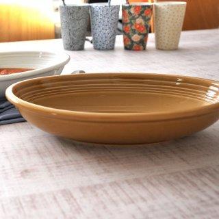 オードリー WH&AM 26cmベーカー AM 洋食器 楕円・変形ボール(M) 業務用 約27cm 茶色 ボウル 楕円皿 楕円鉢