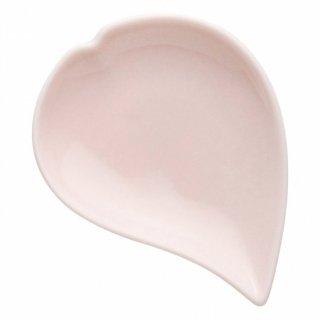 ひとひらピンク豆皿 洋食器 楕円・変形プレート(SS) 業務用 約11cm かわいい デザート 洋菓子 おしゃれ モダン カフェ