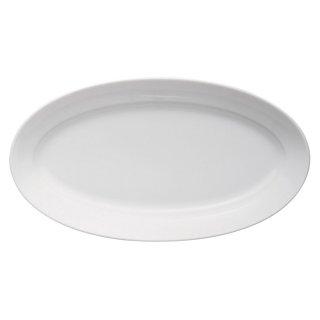 パエリア31cmプラター 洋食器 楕円・変形プレート(L) 業務用 約31cm 洋食レストラン 大皿 ハンバーグ