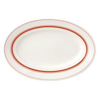 カントリーオレンジ 29cmプラター 洋食器 楕円・変形プレート(M) 業務用 約29cm モダン おしゃれ