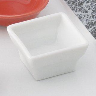 JAPONE ジャポーネ WH4.5cm角鉢 白い器 洋食器 正角ボール(S) 業務用 約4.5cm