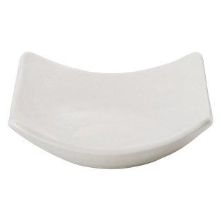 白スクエアSボール 白い器 洋食器 正角ボール(M) 業務用 約12.8cm 洋食 ボウル
