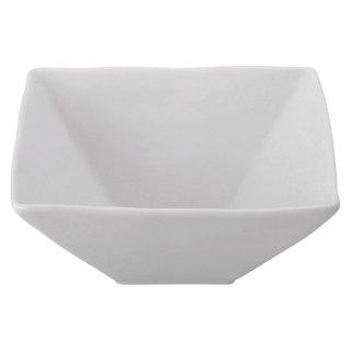 白磁凪14.5cm角鉢 白い器 洋食器 正角ボール(M) 業務用 約14.5cm 洋食 ボウル