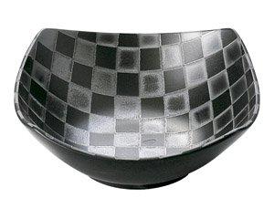 チェス ブラック17.5cm角ボール 洋食器 正角ボール(M) 業務用 約17.6cm 洋食 おしゃれ