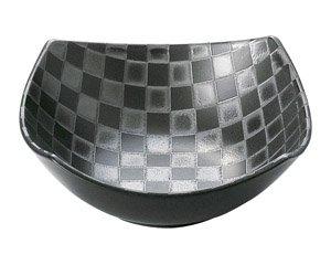チェス ブラック15.5cm角ボール 白い器 洋食器 正角ボール(M) 業務用 約15.5cm