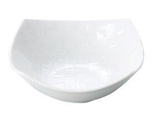 チェス ホワイト15.5cm角ボール 白い器 洋食器 正角ボール(M) 業務用 約15.5cm
