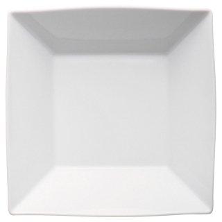 ヴィエー21cm角鉢 白い器 洋食器 正角ボール(L) 業務用 約21.6cm サラダ ボウル