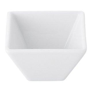 白7cmスクエアボール 白い器 洋食器 正角ボール(S) 業務用 約7cm 洋食 おしゃれ