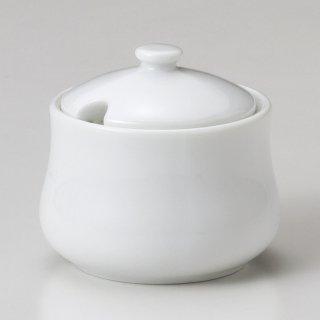 白磁ローレルシュガー 洋食器 シュガーポット 業務用