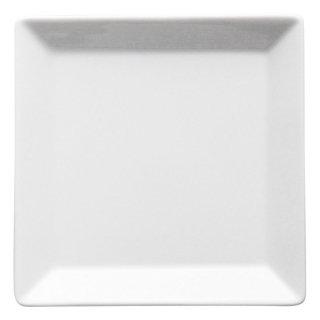 キャレ12cmスクエアプレート 洋食器 正角プレート(SS) 業務用 約11.8cm 白 白い器 四角 角皿 おしゃれ モダン