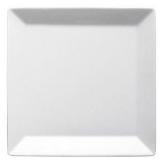 キャレ15cmスクエアプレート 洋食器 正角プレート(SS) 業務用 約14.8cm 白 白い器 四角 角皿 おしゃれ モダン
