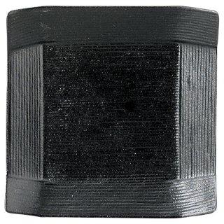 こより 黒マット 取皿 黒い器 洋食器 正角プレート(SS) 業務用 約12cm 四角 角皿 おしゃれ モダン シンプル カフェ