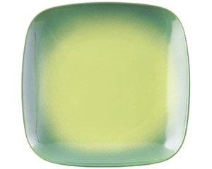COLORE コローレ グリーンスクエアプレート L 洋食器 正角プレート(L) 業務用 約25.8cm お皿 四角 スクエア