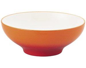 COLORE コローレ オレンジ25cmラージボール 洋食器 丸型ボール(LL) 業務用 約25.3cm