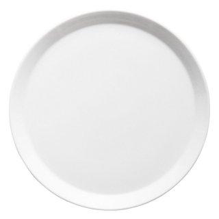 キャレ24cmミート 白い器 洋食器 丸型プレート(M) 業務用 約24.2cm 丸皿 中皿 洋食 白いお皿 ディナー皿