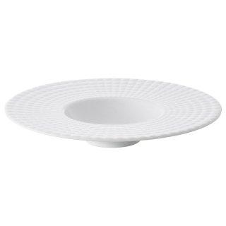 イストシリーズKILT25cmボール 白い器 洋食器 丸型プレート(L) 業務用 約25cm 肉料理 魚料理 主菜