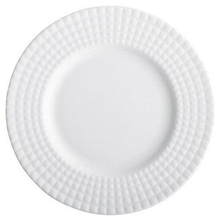 イストシリーズKILT20cmプレート 白い器 洋食器 丸型プレート(M) 業務用 約20cm 丸皿 中皿 洋食 白いお皿