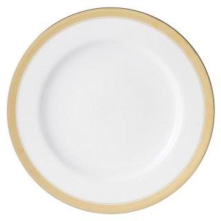 ゴールドリッチ ウルトラホワイト 10吋ミート皿 洋食器 丸型プレート(L) 業務用 約27.7cm 肉料理