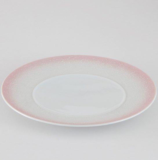 バロック ピンクラスター 28cmプレート 洋食器 丸型プレート(L) 業務用 約28cm 肉料理 魚料理 主菜