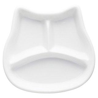仕切プレートねこちゃんキッズプレート 洋食器 ランチプレート 業務用 約18cm 洋食 仕切皿 ワンプレート