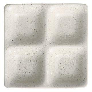 白うのふコワケ4品皿 洋食器 仕切プレート 業務用 約17cm ビュッフェ 仕切皿 おしゃれ