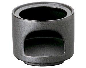 バーニャカウダ フォンデュ 耐熱ストレートスタックウォーマーブラック 箱入り 洋食器 耐熱食器 コンロ・ウォーマー 業務用 約11cm