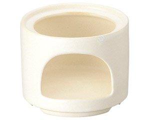 バーニャカウダ フォンデュ 耐熱ストレートスタックウォーマーホワイト 箱入り 洋食器 耐熱食器 コンロ・ウォーマー 業務用 約11cm