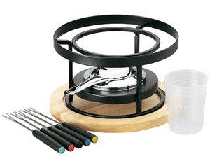 バーニャカウダ フォンデュ ソースウォーマーセット 箱入り 洋食器 耐熱食器 コンロ・ウォーマー 業務用 約19.5cm