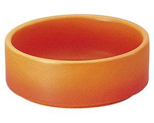 バーニャカウダ フォンデュ ソースディッシュ小ベイクオレンジ 洋食器 耐熱食器 バーニャカウダ・フォンデュ 業務用 約9cm