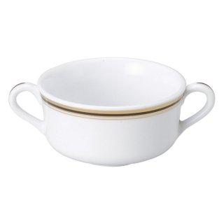 ムーンリバー ウルトラホワイト ブイヨン 洋食器 両手スープ 業務用
