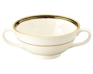 NBエンペラーブラック ブイヨンカップ 洋食器 両手スープ 業務用