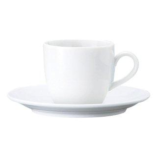 BS玉淵JAPAN コーヒー碗皿 洋食器 カップ&ソーサー コーヒー 業務用 喫茶店 珈琲屋 カフェ ケーキ屋 花柄 シンプル