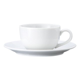BS玉淵JAPAN 兼用碗皿 洋食器 カップ&ソーサー 兼用カップ 業務用 ケーキ屋 パン屋 家庭用 シンプル
