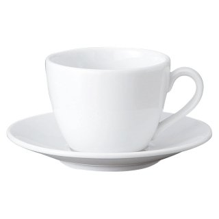 GIGA 白磁強化業務用 コーヒーC/S 洋食器 カップ&ソーサー コーヒー 業務用 喫茶店 珈琲屋 カフェ ケーキ屋 花柄