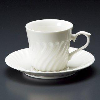KネジNBコーヒー碗皿 洋食器 カップ&ソーサー コーヒー 業務用 喫茶店 珈琲屋 カフェ ケーキ屋 花柄 シンプル パン屋