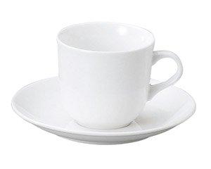 LSP 軽量強化磁器 アメリカン碗皿 洋食器 カップ&ソーサー アメリカン 業務用 ライトコーヒー シンプル ケーキ屋