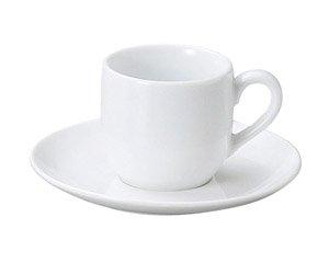 LSP 軽量強化磁器 デミタス碗皿 洋食器 カップ&ソーサー デミタス 業務用 エスプレッソ シンプル ミニカップ