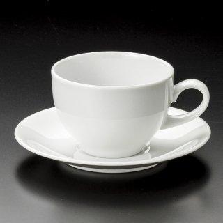 MKWアメリカン碗皿 洋食器 カップ&ソーサー アメリカン 業務用 ライトコーヒー シンプル ケーキ屋 ベーカリーカフェ