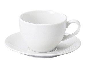 MKホワイト アメリカン碗皿 洋食器 カップ&ソーサー アメリカン 業務用 ライトコーヒー シンプル ケーキ屋 ベーカリーカフェ