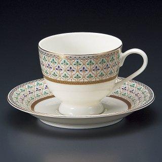 NBヴィオラコーヒー碗皿 洋食器 カップ&ソーサー コーヒー 業務用 洋風 高級感 ケーキ屋 おしゃれ ベーカリーカフェ