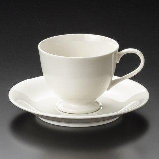 NBキングコーヒー碗皿 洋食器 カップ&ソーサー コーヒー 業務用 喫茶店 珈琲屋 カフェ ケーキ屋 花柄 シンプル パン屋
